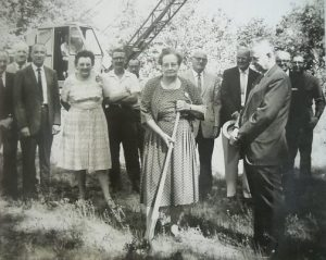 Woodlawn Nature Center Ground Breaking - Circa. 1965